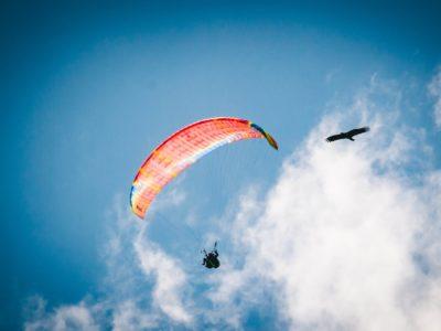 Где пройти обучение полётам на параплане