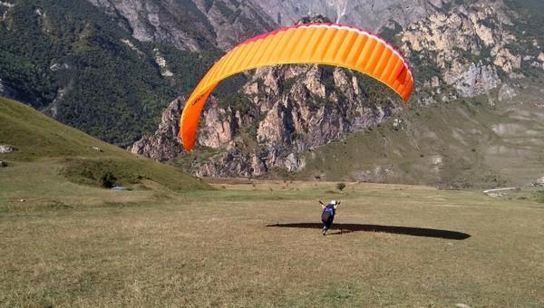 обучение полётам на параплане