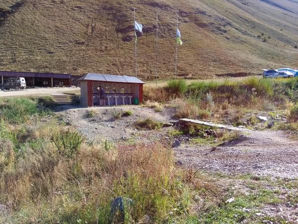 парадром чегем кемпинг в горах
