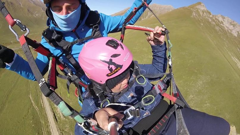 полёт на параплане с инструктором что одеть