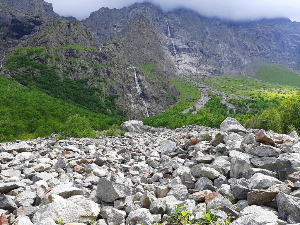 Водопады Осетия экскурсия