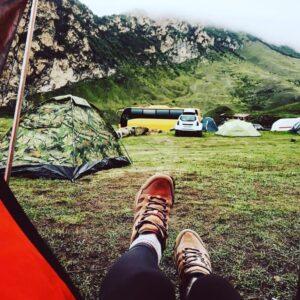 отдых экскурсия в чегемское ущелье палаточный кемпинг