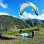 отдых экскурсия в чегемское ущелье полёт на параплане